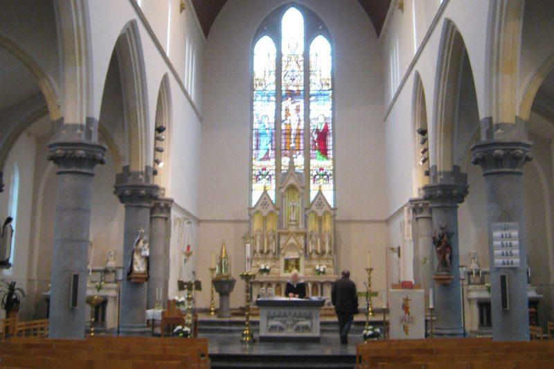 Sint-kristoffelkerk | Opgrimbie
